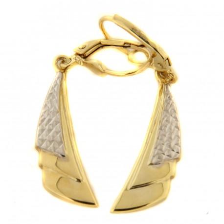 Zlaté náušnice E10156-320-1