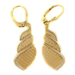 Zlaté náušnice E10156-2555
