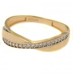 Zlatý prsten R25-3247