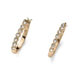 Náušnice Oliver Weber Deli - 22783 (gold crystal)