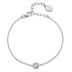 Stříbrný náramek Oliver Comfort - 63521 - Ag925 (crystal)