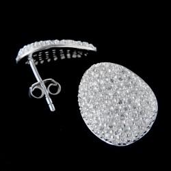 Stříbrné náušnice E185