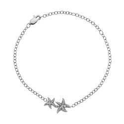 Stříbrný náramek Hot Diamonds Daisy DL587