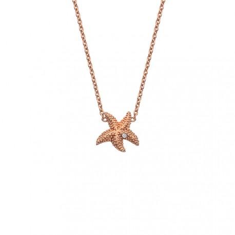 Stříbrný náhrdelník Hot Diamonds Daisy RG DN135