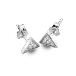 Stříbrné náušnice Hot Diamonds Emozioni Cleopatra EE034