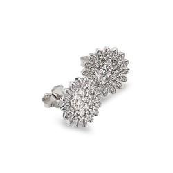 Stříbrné náušnice Hot Diamonds Emozioni Spirzzare EE031