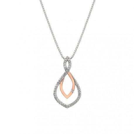 Stříbrný přívěsek Hot Diamonds Lily RG DP734
