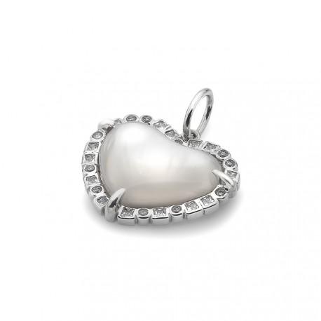 Stříbrné přívěsek Hot Diamonds Emozioni Iridesente EP035