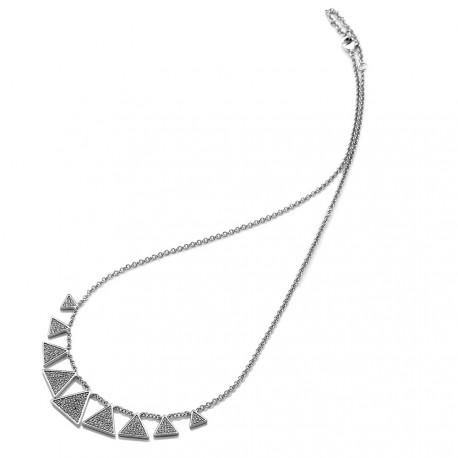Stříbrný náhrdelník Hot Diamonds Emozioni Cleopatra EN001