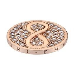Přívěsek Hot Diamonds Emozioni Infinity Rose Gold Coin