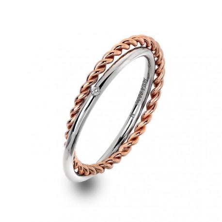 Stříbrný prsten Hot Diamonds Jasmine RG DR211