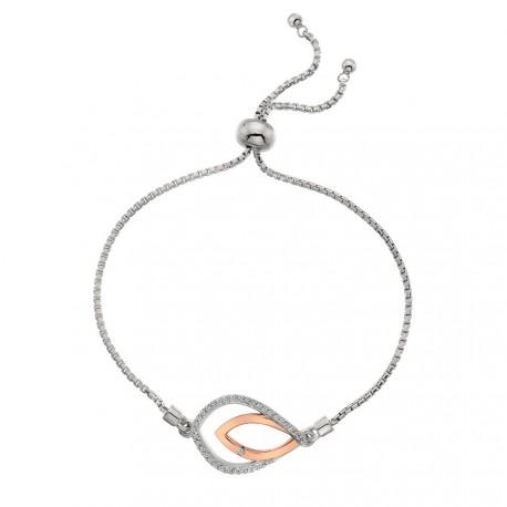 Stříbrný náramek Hot Diamonds Lily RG DL591