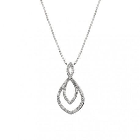 Stříbrný přívěsek Hot Diamonds Lily DP733