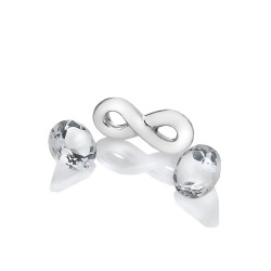 Stříbrný přívěsek Hot Diamonds Anais topaz element AC120