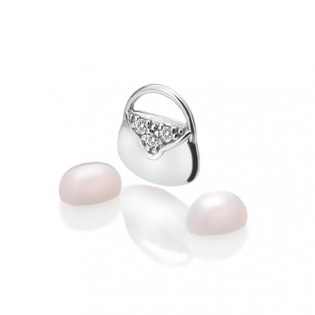 Stříbrný přívěsek Hot Diamonds Anais křemen element AC118