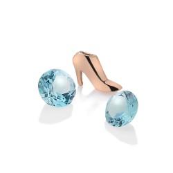 Stříbrný přívěsek Hot Diamonds Anais achát element RG AC117