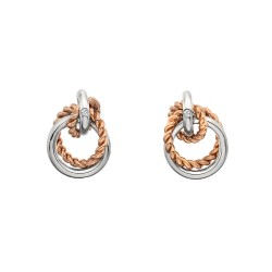 Stříbrné náušnice Hot Diamonds Jasmine RG DE611