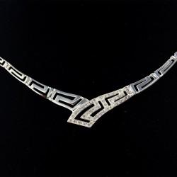 Stříbrný náhrdelník N07