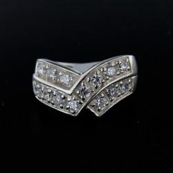 Stříbrný prsten R111