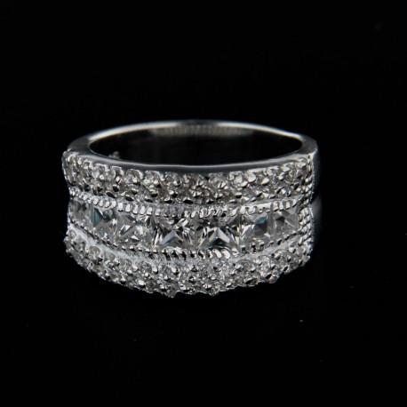Stříbrný prsten R121