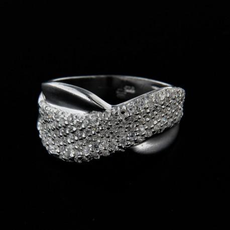 Stříbrný prsten R124