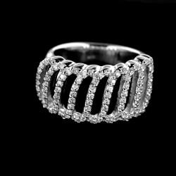 Stříbrný prsten R411