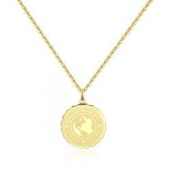 Náhrdelník Sagapo Coin SKY02