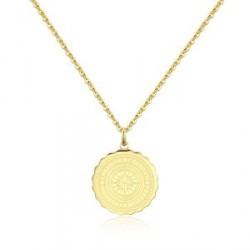 Náhrdelník Sagapo Coin SKY06