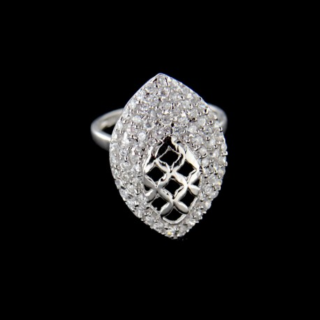 Stříbrný prsten R539