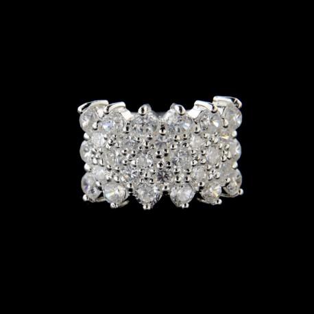 Stříbrný prsten R545