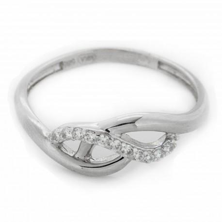 Zlatý prsten AZR175W