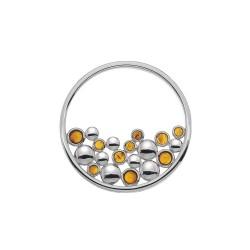 Přívěsek Hot Diamonds Emozioni Nettare Coin EC488-489