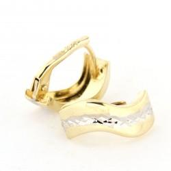 Zlaté náušnice E10341-009