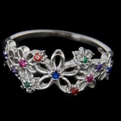 Stříbrný prsten R2322