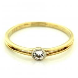 Zlatý prsten AYZ078