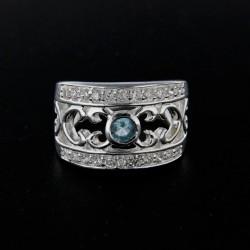 Stříbrný prsten R128