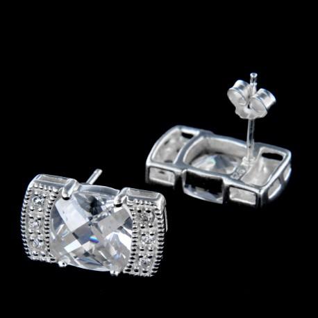 Stříbrné náušnice E161