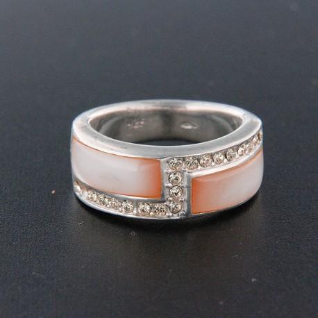 Stříbrný prsten R342