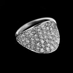 Stříbrný prsten R224