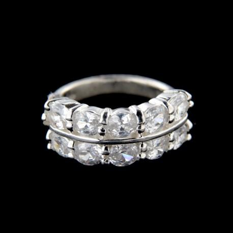 Stříbrný prsten R608W