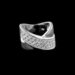 Stříbrný prsten R541