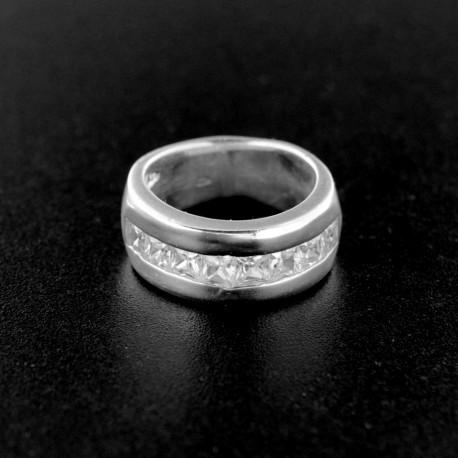 Stříbrný prsten R543