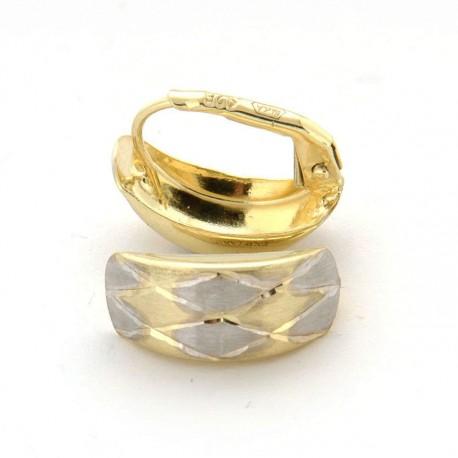 Zlaté náušnice E10350-738