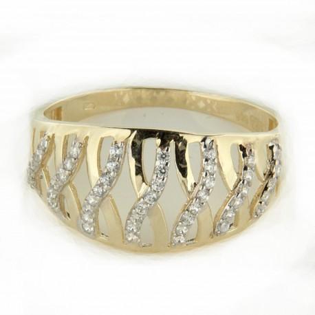 Zlatý prsten PYZ4072