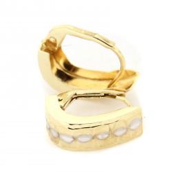 Zlaté náušnice E10388-093