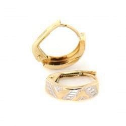 Zlaté náušnice E10337-101