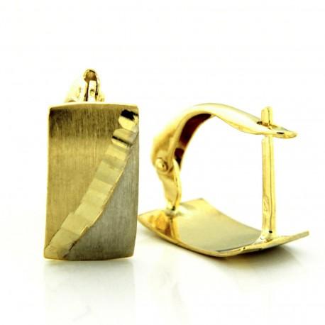 Zlaté Náušnice E10165-735
