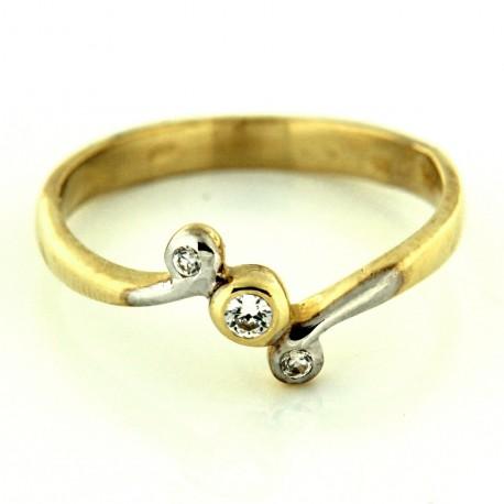 Zlatý prsten R42