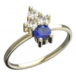 Dětský zlatý prsten BeKid - 159 (žluté zlato Au585