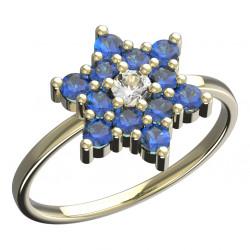Dětský zlatý prsten BeKid hvězdička - 090 (žluté zlato Au585